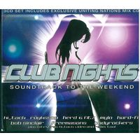 3CD Box-set Various - Club Nights: Soundtrack To The Weekend (23 Jan 2006)