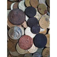 300 монет с рубля (царский период ,ранние советы, советы, Россия,Украина,и немного прочего)