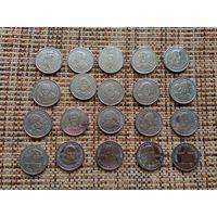 Памятный набор Миленниум 20 шт (полный комплект)