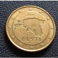 50 евроцент 2011 Эстония