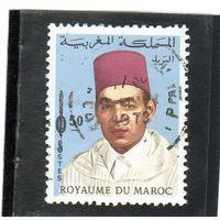 Марокко. Mi:MA 609. Король Хасан II (1929-1999). Серия: Король Хасан II (1968-1973 годы). 1968.