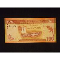 Шри-Ланка, 100 рупий 2010 год. UNC