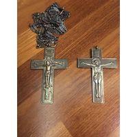 Крест павловский 2 шт, серебро