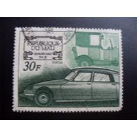 Африка. Мали 1969 Mi:ML 189 Ситроен (машина, автомобиль)