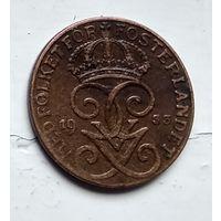Швеция 1 эре, 1933 4-4-43