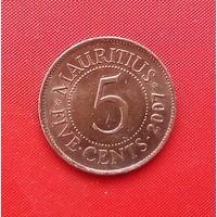05-30 Маврикий, 5 центов 2007 г.