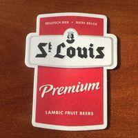 """Подставка под пиво """"St Louis"""" / Бельгия/"""