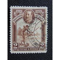Британская Гайана 1931 г. Король Георг -V.