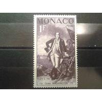 Монако 1956 Вашингтон, первый президент США**