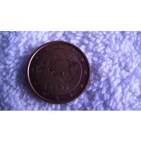 Эстония 2 евроцента 2011г. распродажа