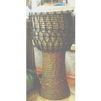 Барабан Джембе 11 дюймов из Ганы с чехлом