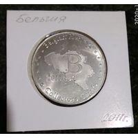W: Бельгия, коллекционная монета Бельгийского наследия - Gravensteen Gent, холдер в подарок