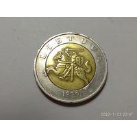 Литва 5 литов 1999