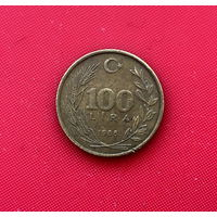 46-20 Турция, 100 лир 1988 г.