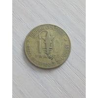 Западная Африка 10 франков 1968г.