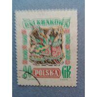 Польша. Дни Кракова. 1955г. гашеная