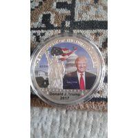 Монета дональд трамп