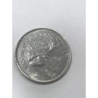 25 центов, 1985 г., Канада