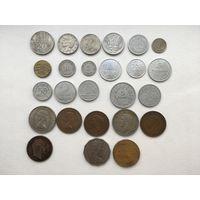 25 монет коллекционный лот