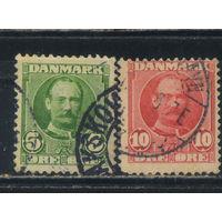 Дания 1907 Фредерик VIII Стандарт #53,54
