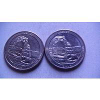 США 25 центов 2014г ARCHES (D)  распродажа