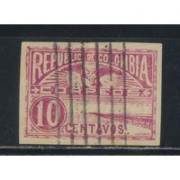 Колумбия 1902 Причал в Сабанилье Стандарт #170Вв