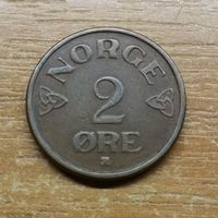 Норвегия 2 эре 1955 _РАСПРОДАЖА КОЛЛЕКЦИИ