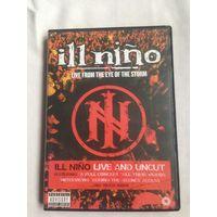 РАСПРОДАЖА DVD! ILL NINO - LIVE