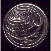 10 центов 2002 год Каймановы острова