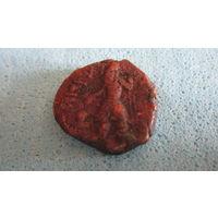 Монета Кушанское царство 2. Кушаны медь
