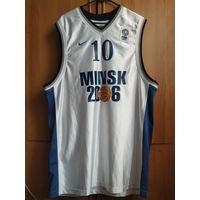 Баскетбольная майка Минск 2006 nike Fiba Europe Korshyk #10