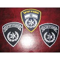 Шевроны Полиции Израиля