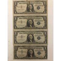 4 доллара 1957