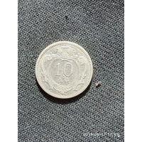 L010  10 геллеров Австрия 1894
