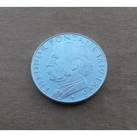ФРГ, 5 марок 1969 г., серебро