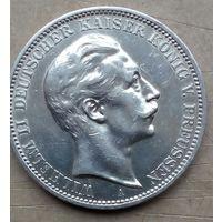 Пруссия 3 марки 1909
