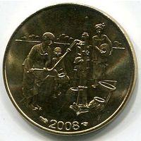 ЗАПАДНАЯ АФРИКА - 10 ФРАНКОВ 2008