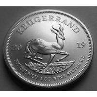 ЮАР 2019 серебро (1 oz)