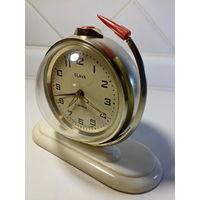 Часы будильник Слава Космос. СССР