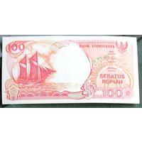 100 рупий 1992 Индонезия ПРЕСС