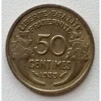 Франция 50 сантим 1933