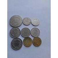 Монеты Швейцарии.