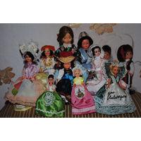 """Ретро-СУВЕНИРНЫЕ-куклы No1 фирмы: """"Марин"""" из Испании, - производства 50-60гг. Куклы *Marin - это мужские и женские персонажи, одетые в народные или исторические костюмы. Широкая улыбка, взгляд в сторо"""
