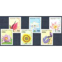 Бенин 1995 Цветы, 6 марок
