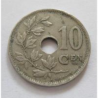 Бельгия 10 сантим 1929 KONINKRIJK BELGIE