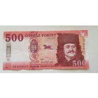 Венгрия 500 форинтов 2018г