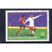 Экваториальная Гвинея.Спорт.Чемпионат мира по футболу.Франция.1988.
