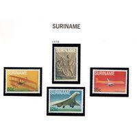 Суринам-1978,(Мих.849-852) **  , Авиация, самолеты