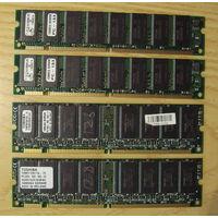 Память PC133 128MB 4шт