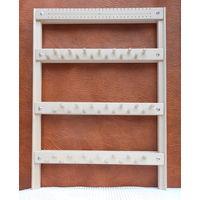 Настенный деревянный органайзер для ювелирных изделий